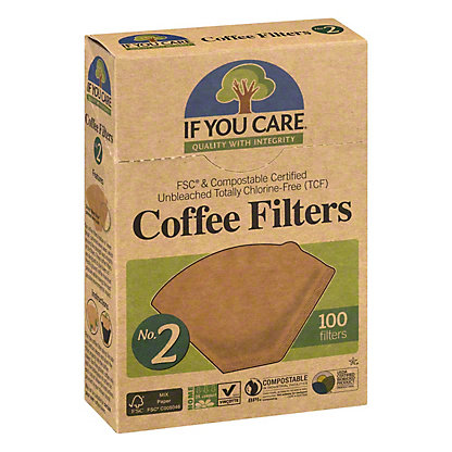 If You Care Coffee Filters No.2,100 CT